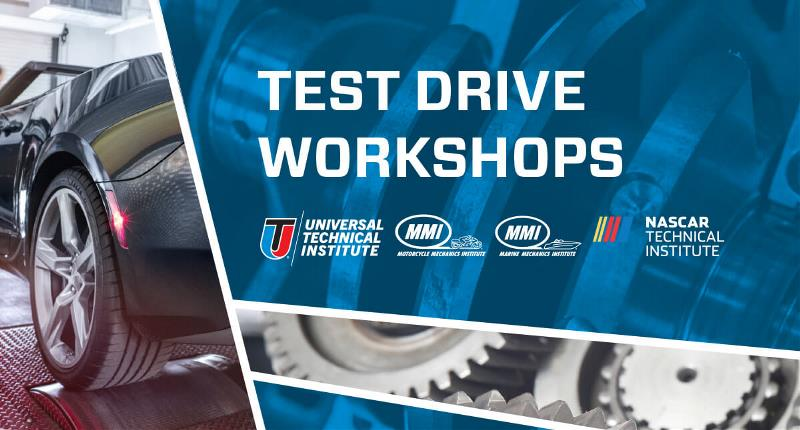Test Drive Event Banner