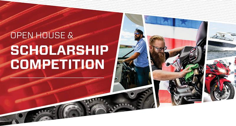 Motorcycle & Marine Open House & Scholarship Competition