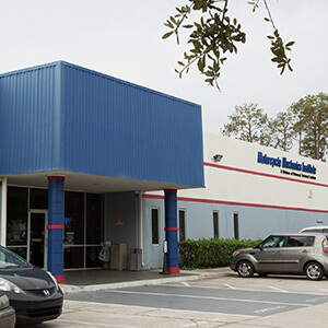 front shot of the Orlando Motorcycle campus