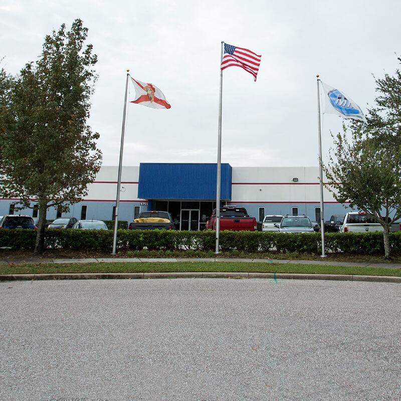 front shot of the Orlando Marine campus