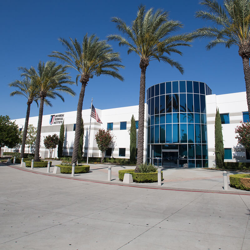 front shot of the Rancho campus