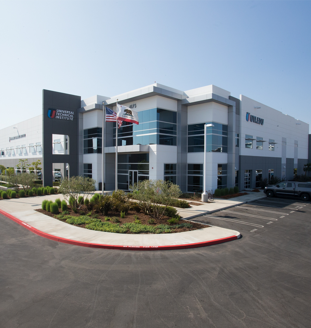 Exterior photo of the LongBeach campus
