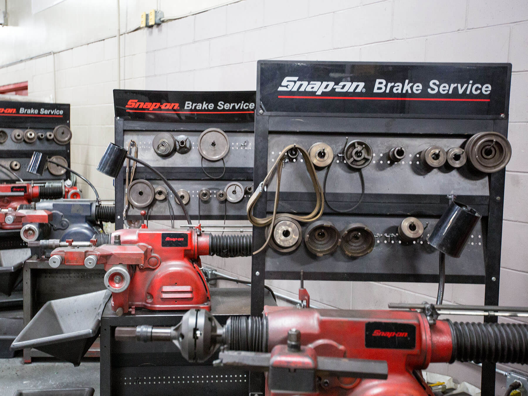 Snap on brake service tools