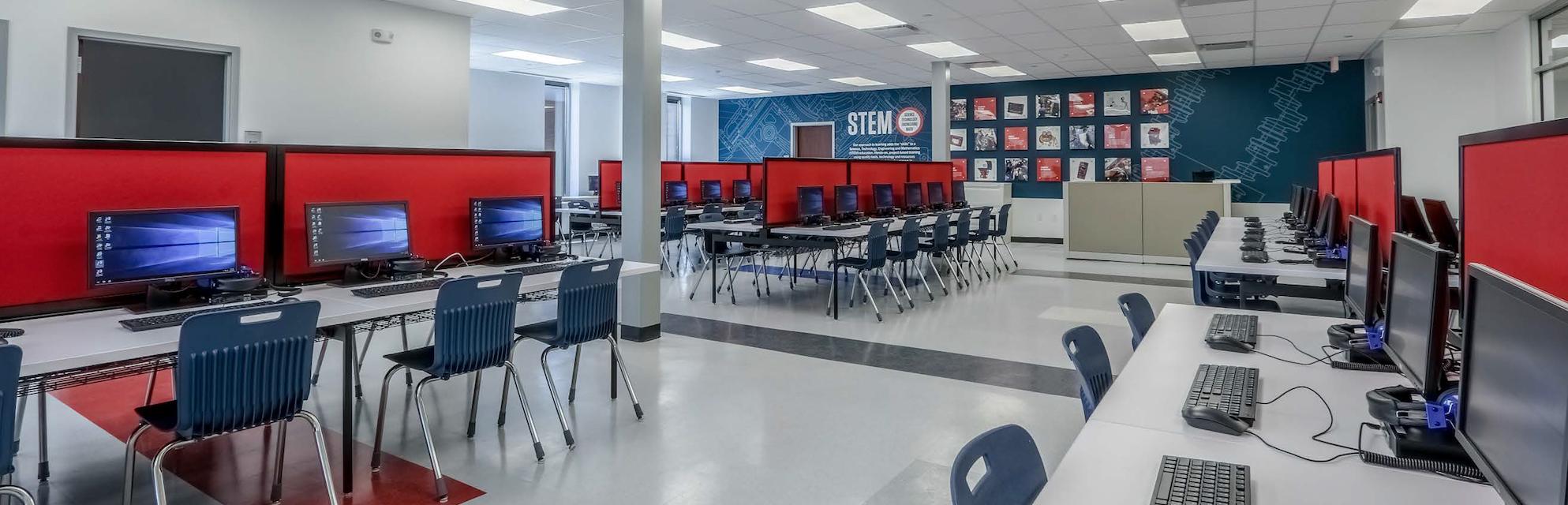 UTI STEM classroom